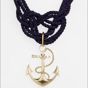 Spring Street Rope Anchor Necklace